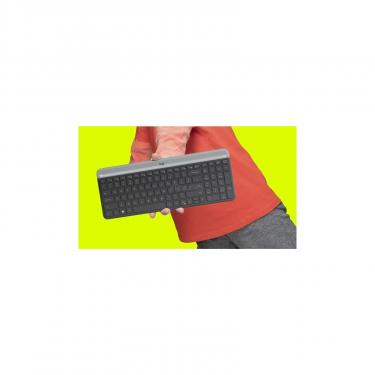 Комплект Logitech MK470 Wireless Slim Graphite (920-009206) - фото 6