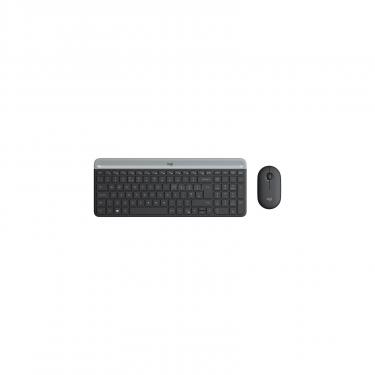 Комплект Logitech MK470 Wireless Slim Graphite (920-009206) - фото 1