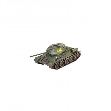 Сборная модель Revell Танк Т-34/85 уровень 4, 1:72 Фото 1
