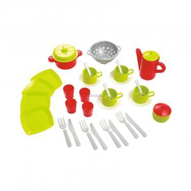 Игровой набор Ecoiffier прозрачная сумочка с набором посуды Фото 1