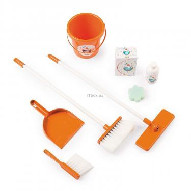 Игровой набор Smoby Тележка для прибирания с пылесосом и 9 аксессуарам Фото 1