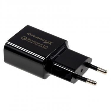 Зарядний пристрій Grand-X QС3.0 (CH-350B) - фото 2