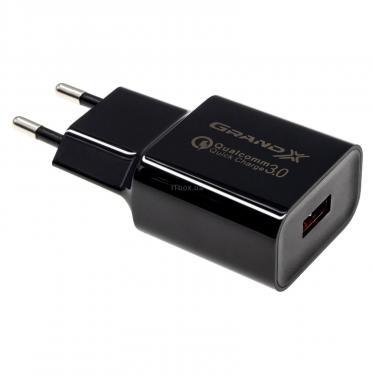 Зарядний пристрій Grand-X QС3.0 (CH-350B) - фото 1