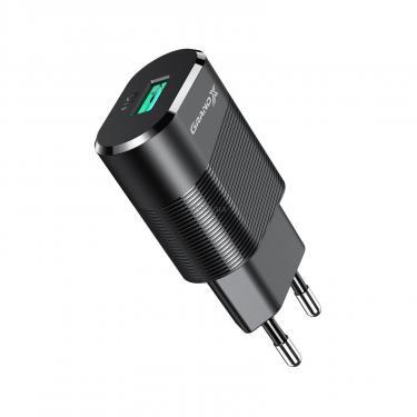 Зарядний пристрій Grand-X CH-17 USB 5V 2,1A (CH-17) - фото 2