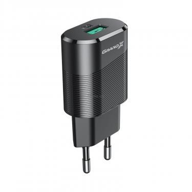 Зарядний пристрій Grand-X CH-17 USB 5V 2,1A (CH-17) - фото 3