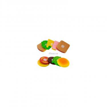 Игровой набор Viga Toys Гамбургер и сэндвич Фото 2