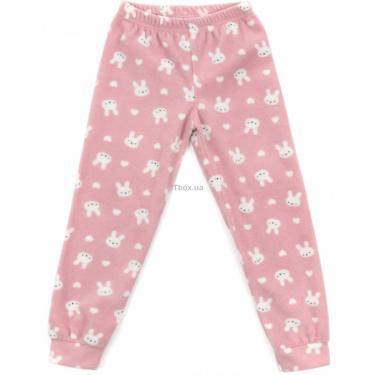 Пижама Matilda флисовая (11013-4-152G-pink) - фото 3