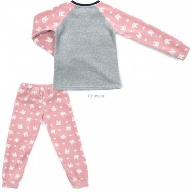 Пижама Matilda флисовая (11013-4-152G-pink) - фото 4