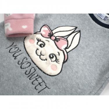 Пижама Matilda флисовая (11013-4-152G-pink) - фото 7