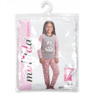 Пижама Matilda флисовая (11013-4-152G-pink) - фото 8