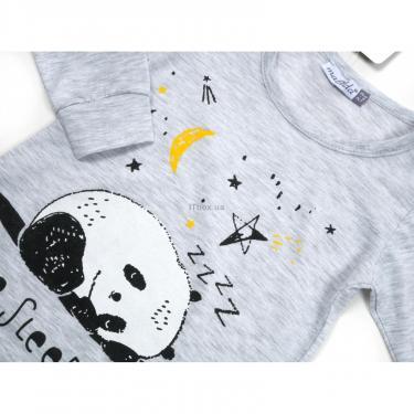 Пижама Matilda с пандами (12122-2-92B-gray) - фото 4