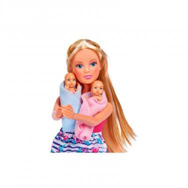 Кукла Simba Штеффи Беременная двойней с младенцами и аксессуар Фото 1