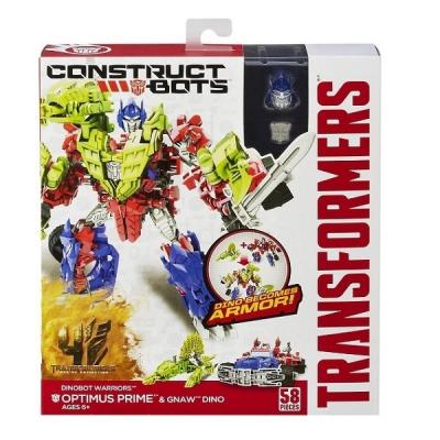 Трансформер Hasbro Оптимус Прайм и Жующий динозавр (A6149-3)