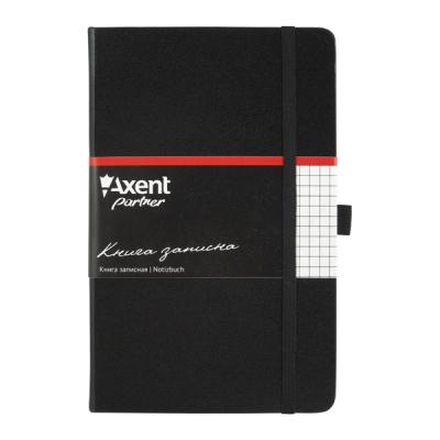 Канцелярская книга Axent Partner, 125*195, 96sheets, square, black (8201-01-А)