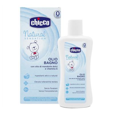 Масло Chicco Natural Sensation для ванны 200 мл (07451.10)