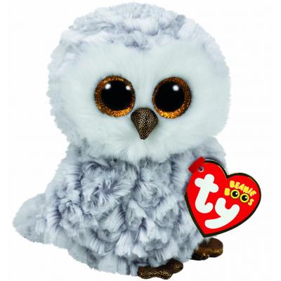 Мягкая игрушка Ty Beanie Boo's Сова Owlette 25 см (37086)