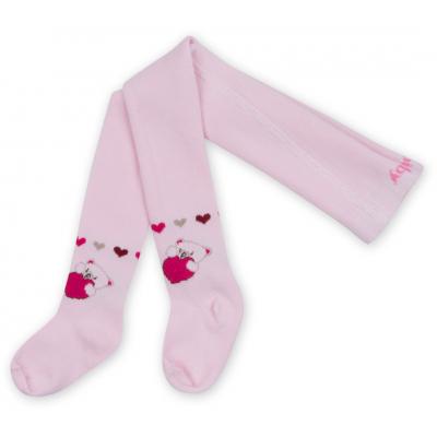 Колготки Bibaby для девочек с мишками розовые (68085-86/G-pink)