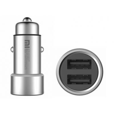 Зарядное устройство Xiaomi Car Charger Silver 5V/3.6A (1154400043)