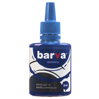Краска штемпельная BARVA 30мл, blue (SPI-BL-005)