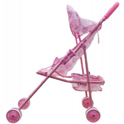 Коляска для кукол Maya Toys Трость с корзинкой и козырьком (45881)