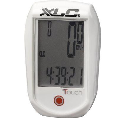 Велокомпьютер XLC BV-C01, 11 функций, белый (2502706000)